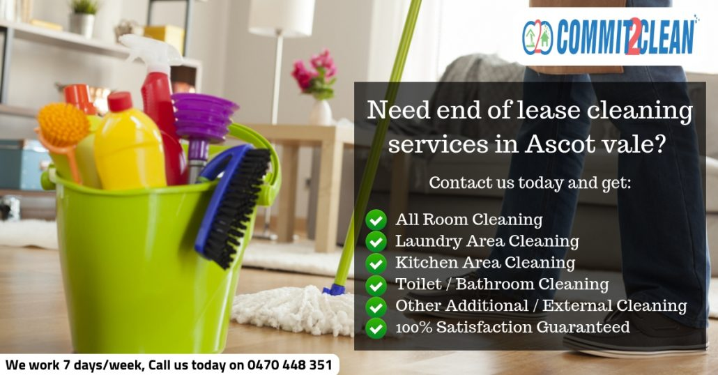 End of lease cleaning Ascot vale